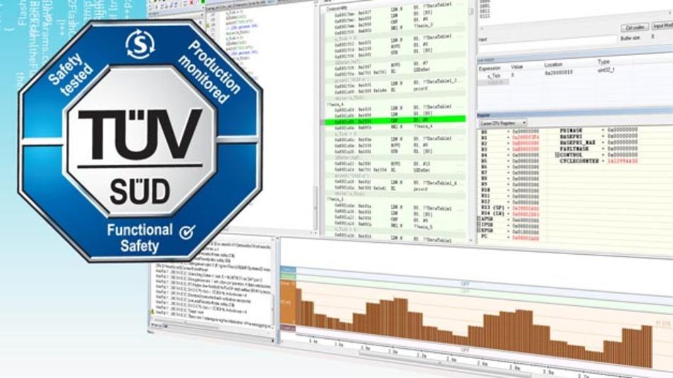 Entwicklungsumgebung mit TÜV-Zertifikat