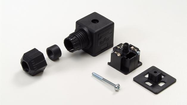 Das Außengewinde der DIN-Ventilsteckverbinder der Serie Brad mPm von Molex ermöglicht eine gleichmäßige Abdichtung zwischen Steckverbinder und Kabel.