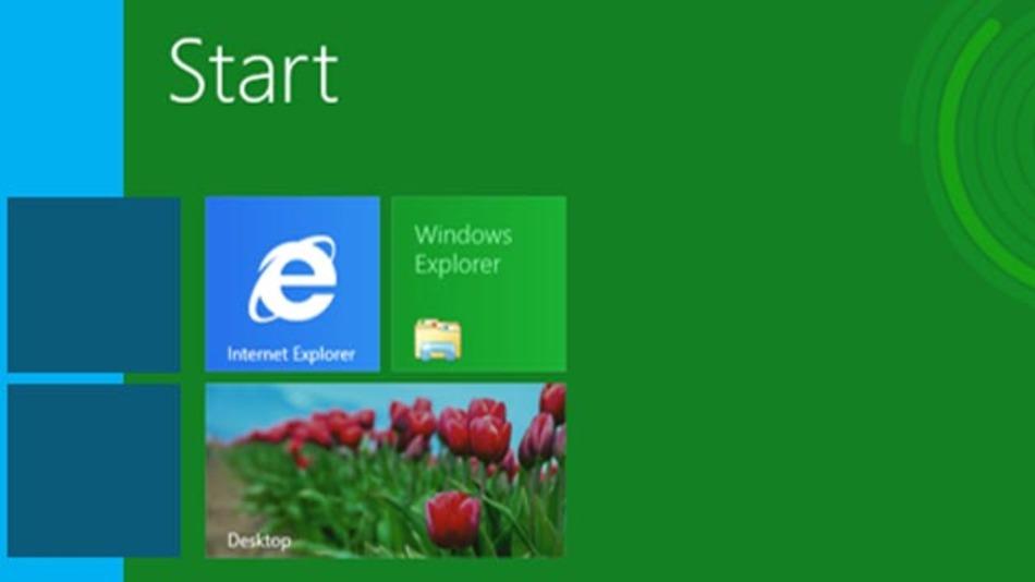 Die Kacheloberfläche – Charakteristikum von Windows 8