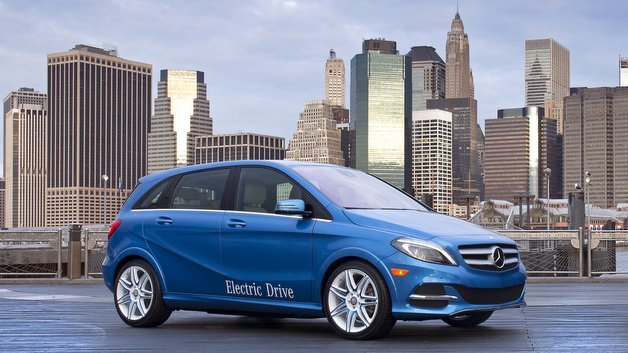 Mercedes Benz B-Klasse Electric Drive.