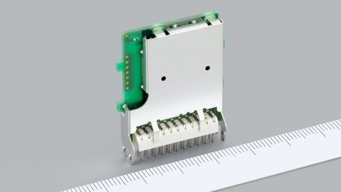 Sehr kompakt: Ein Bluetooth-All-In-One-Modul der UGZZC-G-Serie von ALPS.
