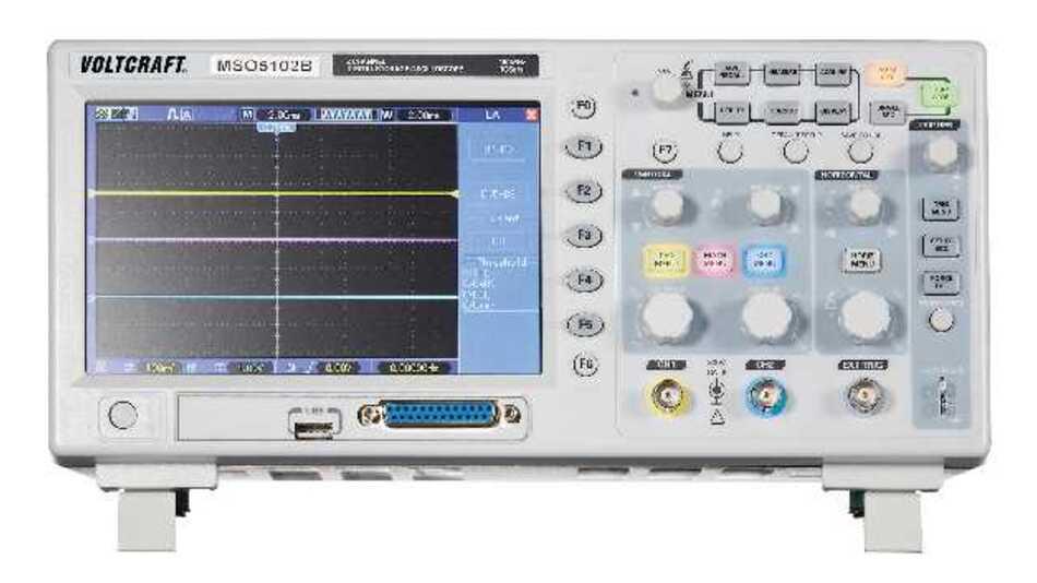 Das Zweikanal-Mixed-Signal-Scope MSO-5102B bietet eine Bandbreite von 100 MHz und einen integrierten 16-Kanal-Logik-Analysator