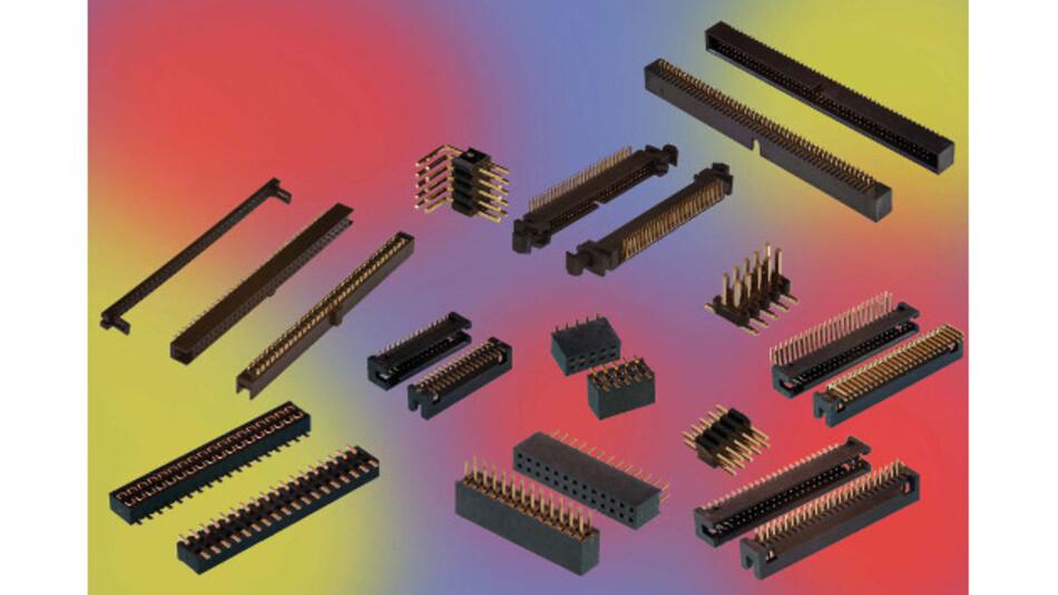 Die Steckverbinder der Reihe Minitek 127 von FCI sind in verschiedenen Versionen verfügbar.