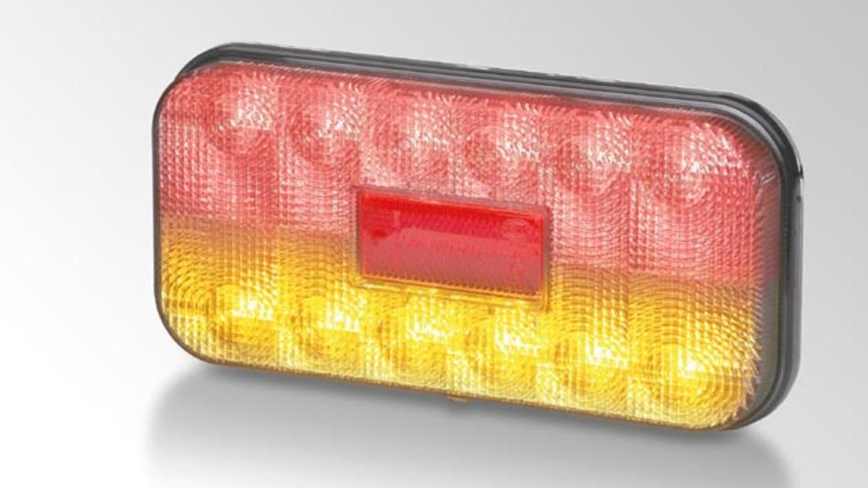 Die Voll-LED-Heckleuchte für Land- und Baumaschinen soll Ende Juni 2013 verfügbar sein.