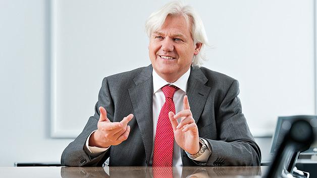 Hans Beckhoff: »In Abhängigkeit von den Rahmenbedingungen der Weltwirtschaft gehen wir für das aktuelle Jahr von einem Umsatzplus zwischen 5 % und 15 % aus.«