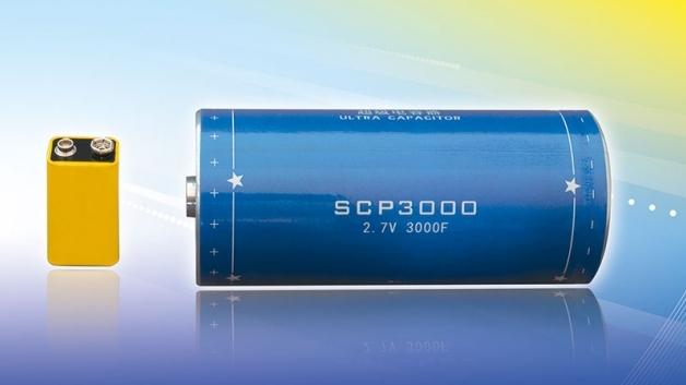 Superkondensatoren mit Kapazitäten bis zu 5000 Farad
