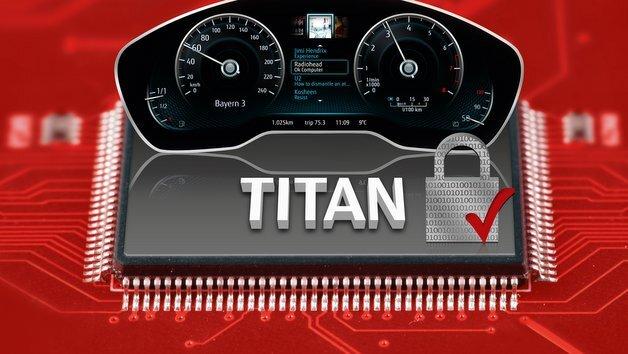 Der Titan-CHIP MB9EF266 von Fujitsu.
