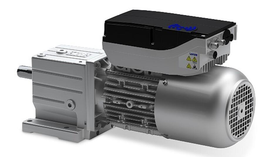 Der »Smart Motor« von Lenze deckt viele Aufgaben in der Fördertechnik ab.