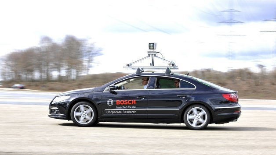 Zukunftsvision automatisiertes Fahren.