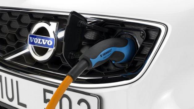 Schneller Ladevorgang beim Volvo C30 Electric.