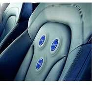 Bild 6: Integration der EPIC-Sensoren in den Fahrersitz eines Autos