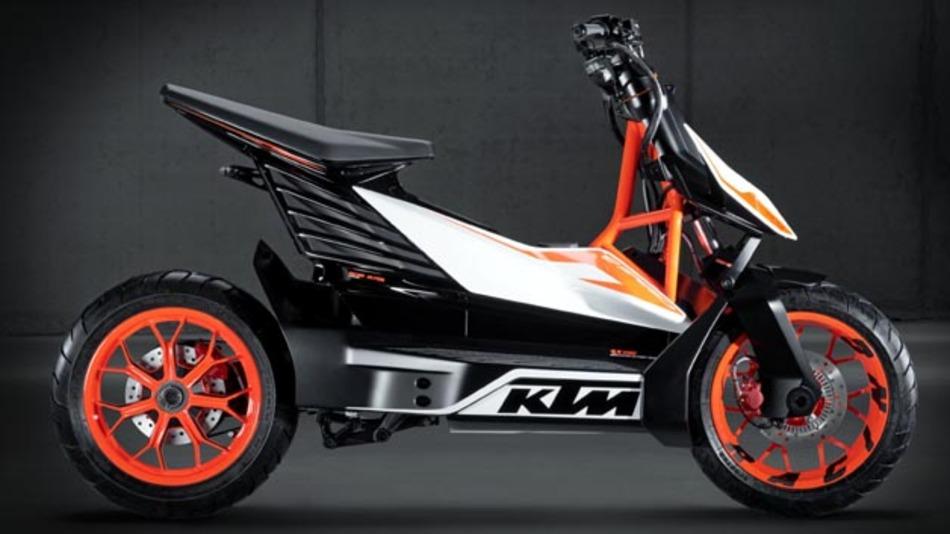 2015 auf dem Markt? Der Elektroroller E-Speed von KTM.
