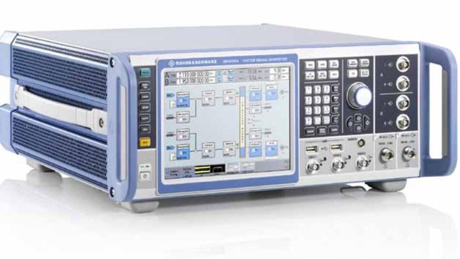 Alle aktuellen Kommunikationsstandards mit modularer Hard- und Software-Ausbaubarkeit beherrscht der neue Vektorsignalgenerator R&S SMW200A auf Basis eines beispielgebenden Touch-Bedienkonzepts.