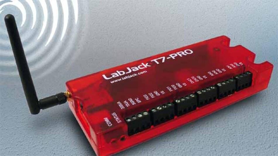 Der neue LabJack ist eine vielseitig einsetzbare Messbox mit USB, Ethernet und WLAN.