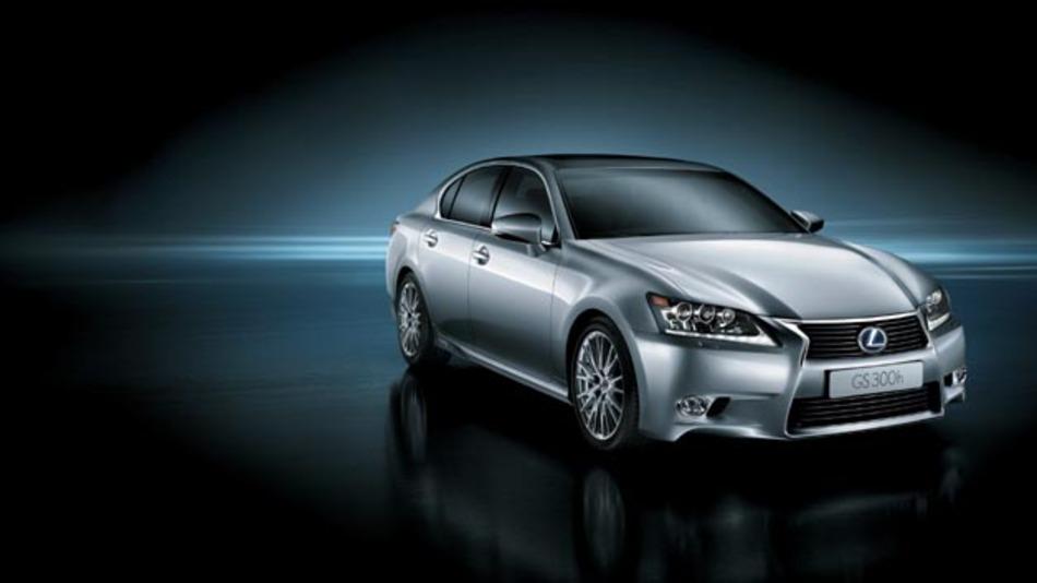 Der Vollhybrid GS 300h ergänzt die GS-Modelle von Lexus.