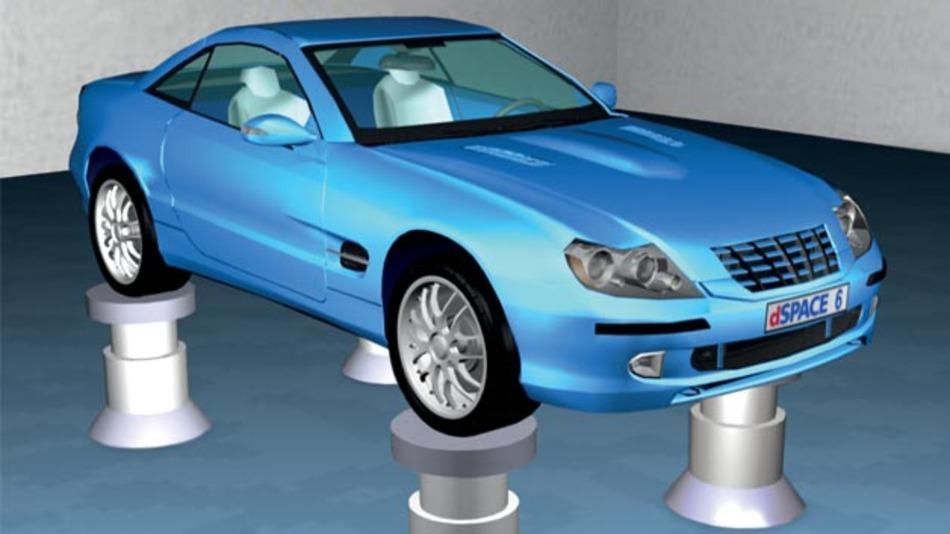 Unterstützen die Simulation virtueller Prüfstände für die Fahrdynamikanlyse: Die Automotive Simulation Models von dSpace.