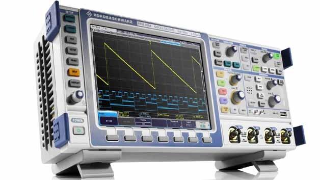 Die Scopes der R&S-RTM-Serie gibt es auch mit einer Option zur Logikanalyse in 16 Kanälen.