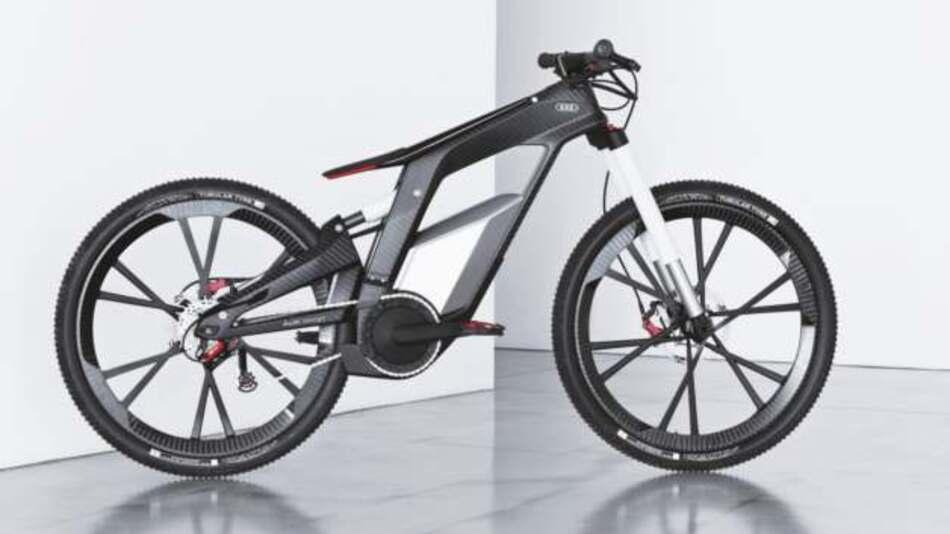 Um zu zeigen, dass im E-Bike Markt noch viel Potential steckt, zeigte Audi auf der Wörthersee Tour 2012 eine sehr leichte Trial- und Stunt-E-Bike-Studie.