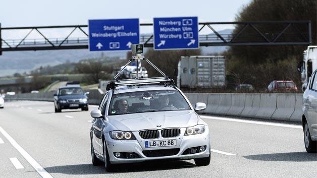 Bosch testet das automatisierte Fahren - zunächst auf Autobahnen.