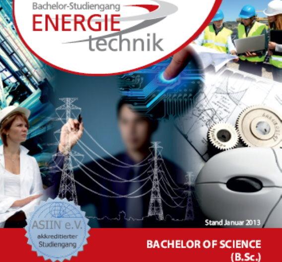Mit dem Bachelorabschluss sollen die angehenden Absolventen als Ingenieur oder Ingenieurin in allen Feldern der Energietechnik arbeiten können. Beginn ist der 20. September.