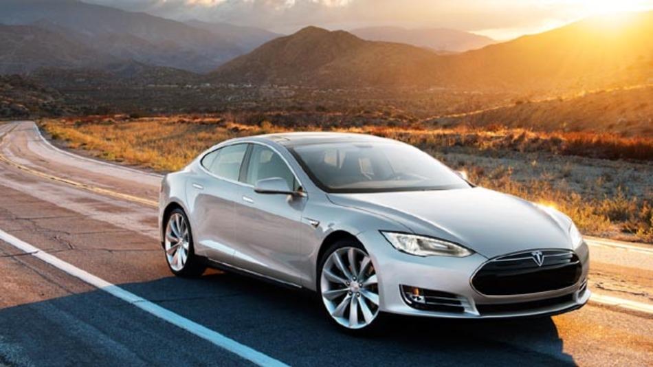 Soll ab August in Deutschland erhätlich sein: Das Modell S von Tesla.