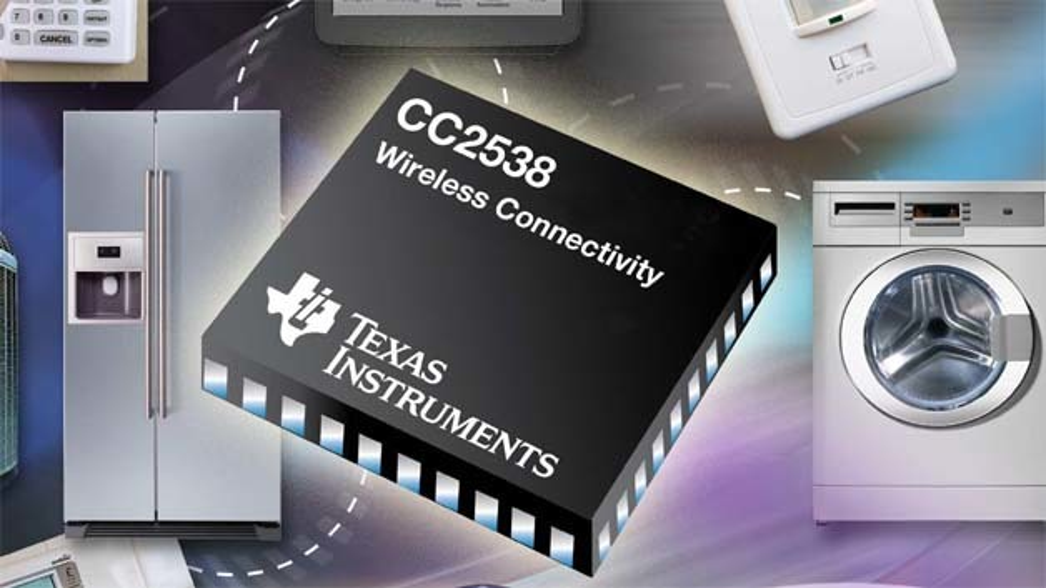Der neue ZigBee-Single-Chip-Transceiver CC2538 macht künftige Industrie- und Heim-Kommmunikations-Aufgaben in den Bereichen Smart Energy, Home Automation und Internet of Things deutlich unkomplizierter.
