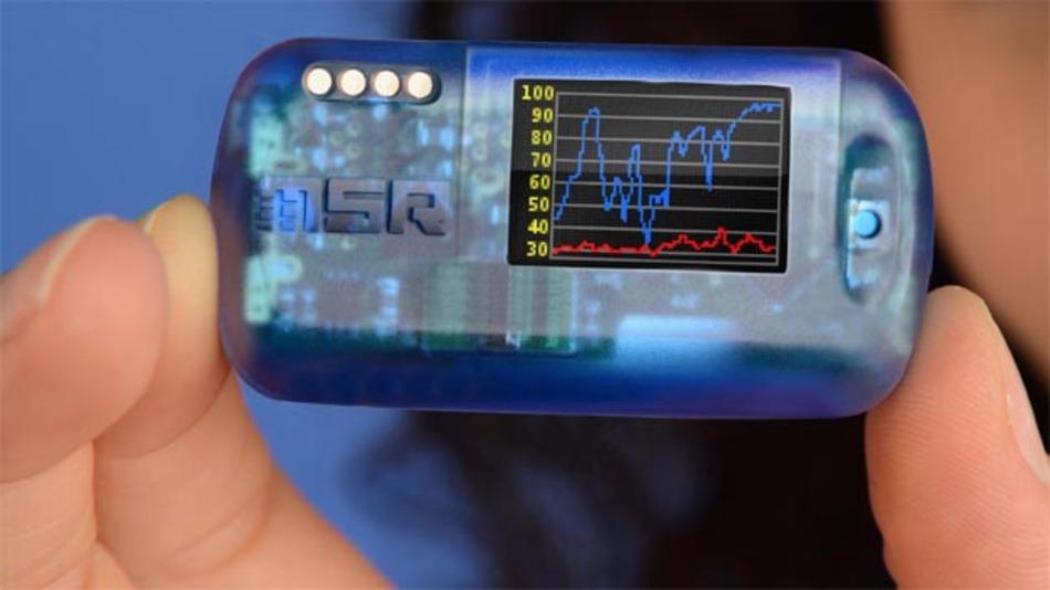 Nur etwa daumengroß und dabei dennoch mit OLED-Display und Bluetooth Low Energy ausgestattet sind die Funk-Datenlogger MSR145WD von MSR Electronics. Damit eignen sie sich für viele interessante Anwendungen.