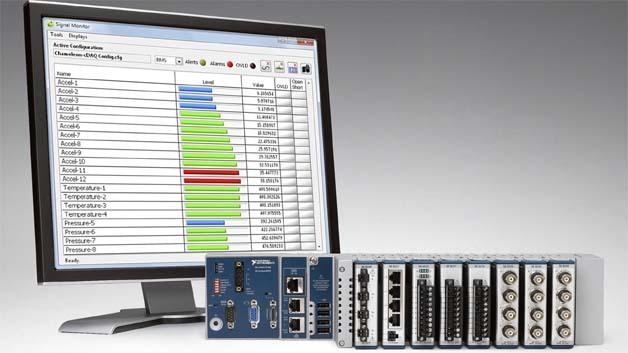 Mit der neuen Software Chameleon von PVI Systems lassen sich Messdatenerfassungen auf Basis von NI CompactDAQ unkompliziert realisieren.