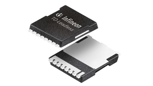 Einen Einschaltwiderstand von maximal 0,4 mΩ hat der 30-V-MOSFET mit dem neuen Gehäuse