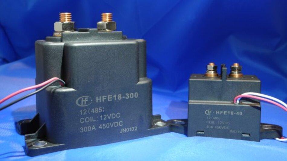 Relais für Spannungen von 450 bis 1000 V(DC)