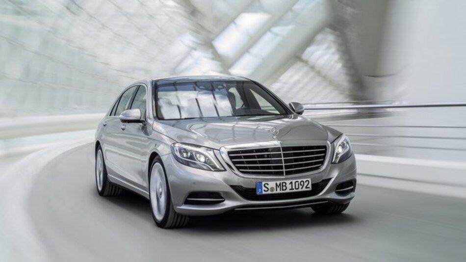 Die neue Mercedes-Benz S-Klasse.