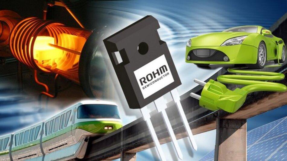 Die zweite Generation der SiC-MOSFETs von Rohm.