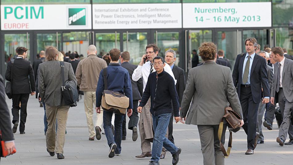 Im Jahr 2013 verzeichnete die PCIM 15 Prozent mehr Besucher!