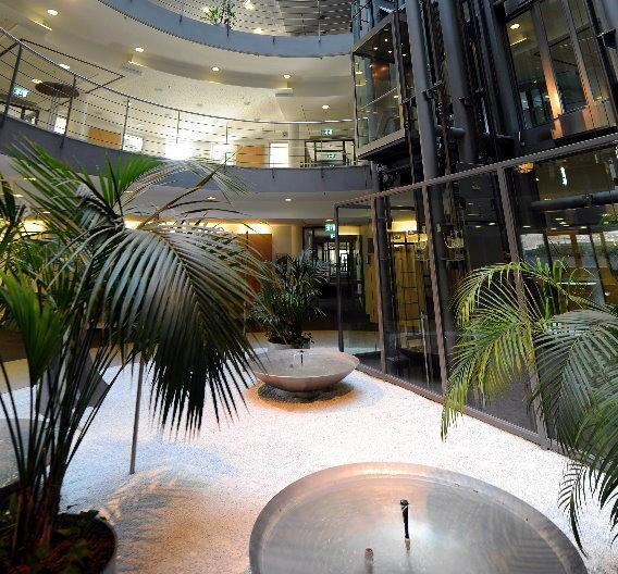 Im Inneren des SAP Headquarters in Walldorf. Schon bald sollen hier uns in anderen Niederlassungen Menschen mit Autismus arbeiten.