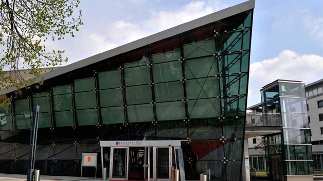 Das Neckar Forum in Esslingen beherbergte wie im letzten Jahr das MOST Forum.