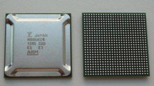 Grafik-SoC MB86R24 von Fujitsu.