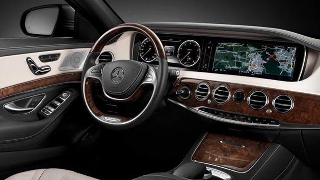 Die neuen Modelle der Mercedes-Benz S-Klasse sind ab sofort mit Harmans Infotainment-System NTG5 unterwegs.