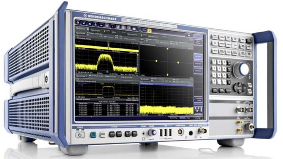 Alle Parameter von Kommunikationssignalen bis 50 GHz nimmt der Signal- und Spektrumanalysator R&S FSW50 präzise unter die Lupe.
