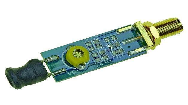 Bild 3: Die  Ferrit-Antenne von DLP Design ist für den Einsatz bei beengten Verhältnissen vorgesehen