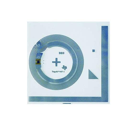 Bild 5: Texas Instruments produziert ein breites Spektrum von Tags, darunter auch diese Version für Laminierung in Papieretiketten und Einlegekarten