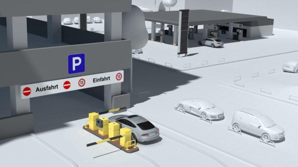"Pilotprojekt in Ingolstadt: ""Audi connect drahtlos bezahlen""."