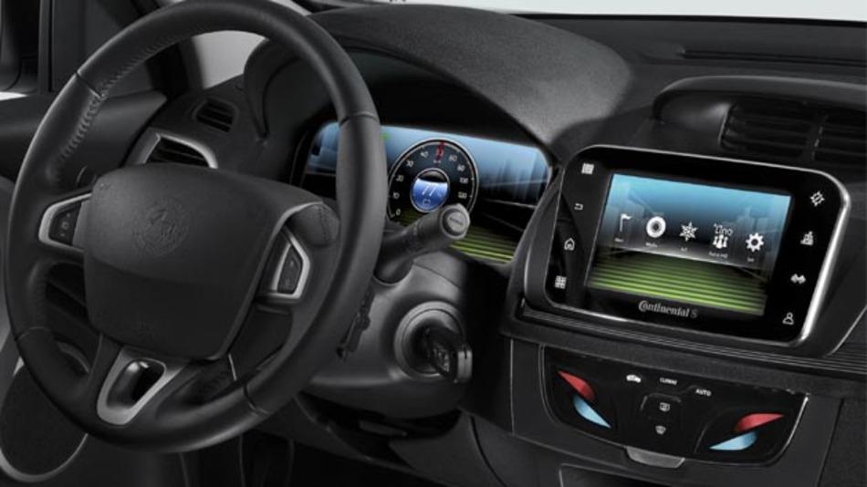 Mit Simplify your Drive von Continental lässt sich die benötigte Reichweite vorausschauend berechnen.