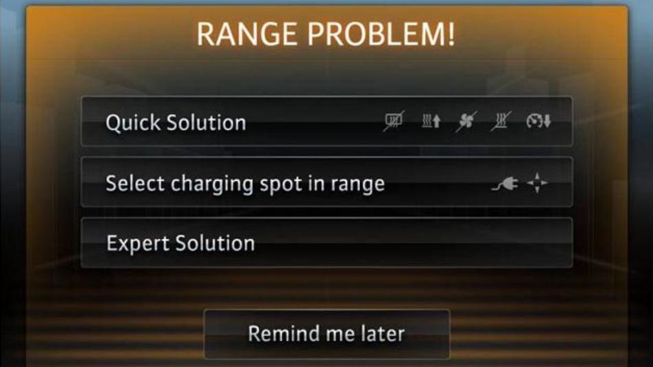 Reichweitenprobleme werden samt Lösungsvorschlägen angezeigt.