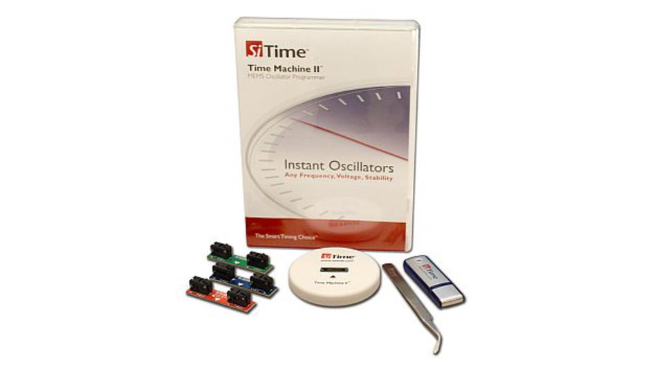 Time Machine II - Entwicklungs-Tool von SiTime