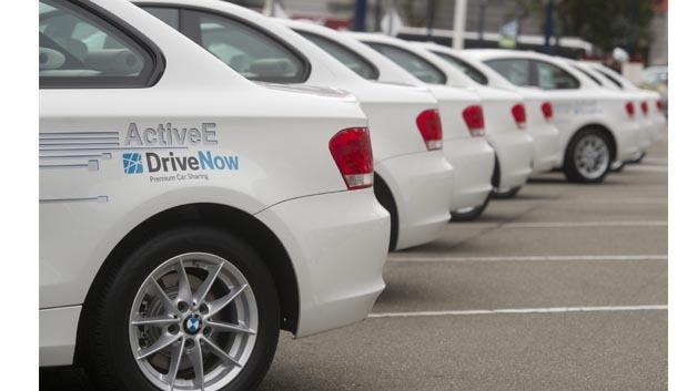 BMW stellt 40 Active-E für Drive-Now in Berlin zur Verfügung.