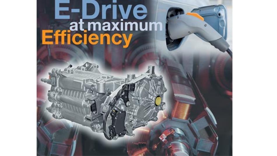 Traktionsmotor, Leistungselektronik und EV-Controller stammen aus dem Hause Continental.