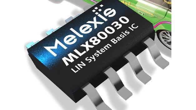 Der MLX80030 ergänzt das Angebot an LIN-Bus-ICs von Melexis.