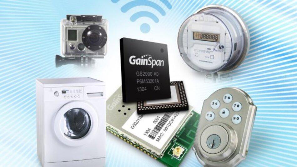 GainSpan, Hersteller von Ultra-Low-Power-Lösungen