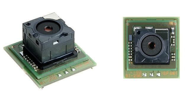Von oben betrachtet, seitlich und senkrecht: das Boardlevel-Kameramodul »FCB-Micro FCB-MA130« von Sony