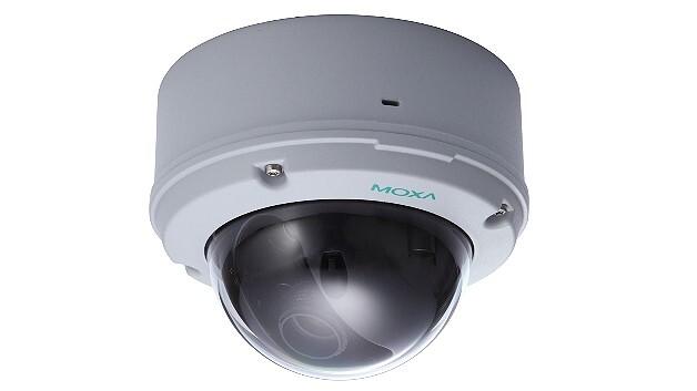 Auch bei Temperaturen von -40 und +75 °C kommt die HD-IP-Kuppelkamera »VPort 26A-1MP« von Moxa ohne Heizung oder Lüfter aus.